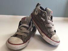 Fair Converse Toddler Boys All Star CT Street Mid Canvas Gray Sneakers