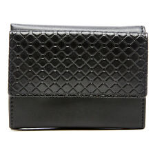 New Vegan Faux Leather Trifold Wallets For Women With ID Window RFID Blocking