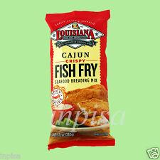 LOUISIANA FISH FRY 12 Bags x 10oz CAJUN CRISPY SEAFOOD BREADING MIX