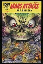 Mars Attacks Art Gallery One-Shot Comic IDW Trading Card Artwork War of Worlds