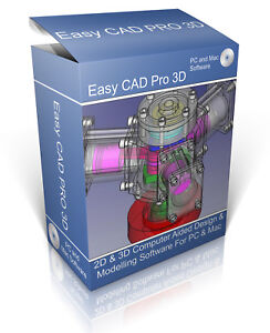 2D & 3D Modelling Suite on CD. Professional Computer Aided Design CAD Software
