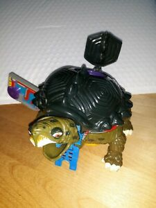1994 TMNT Mini Mutant TOKKA Technodrome Teenage Mutant Ninja Turtles Incomplete