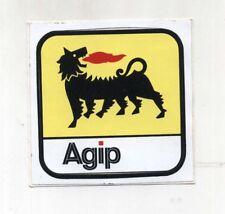 Adesivo AGIP Logo cane a sei zampe ENI NUOVO sticker Autocollant Vintage 2