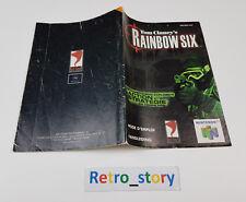 Nintendo 64 N64 Rainbow Six Notice / Instruction Manual