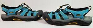 Keen Women's Waterproof Newport H2 Sport Sandals Shoes Light Blue Size 9.5