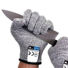 Us Safety Cut Proof Stab Resistant Butcher Gloves Kitchen Level 5 Protection New