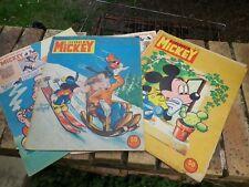 LE JOURNAL DE MICKEY lot n° 43 - 94 - 301 incomplet voir photos