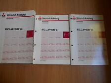 Werkstatthandbuch Mitsubishi Eclipse 1996-1998 (Hauptbuch + 2 Ergänzungen)
