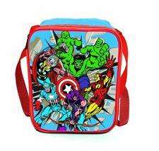 Marvel Avengers 'Comic' School Premium Lunch Bag Insulated - Brand New