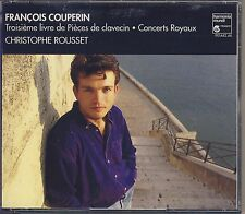 Couperin - Rousset: 3rd Book of Harpsichord Pieces (3 CDs, HM France) Like New