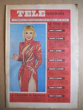 TELE GIORNO 06-12-1979 Stefania Rotolo  copertina  [G591]