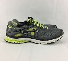Brooks Ravenna 5 Gray & Yellow Athletic Running Mens Shoes Size 10.5