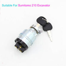 Starter Switch Ignition Fit For Sumitomo 210  Excavator SH Electric Door Lock