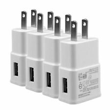4x AC Wall USB Power Adapter Travel Charger for Samsung Galaxy S S4 S5 NOTE 2 3