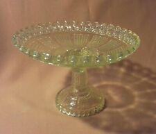 Ancienne Coupe en Ouraline (Vaseline Glass)