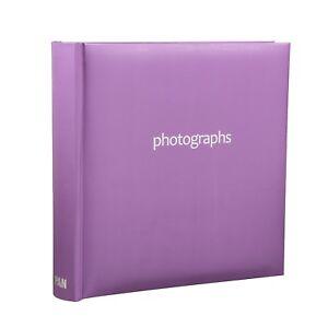 Family, Friends 200 Pockets Slip In Photo Album 6x4'' With Memo Area,Wedding