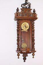 Alter Wiener Regulator Wanduhr Pendel Uhr