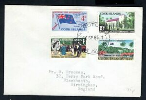Cook Islands - 1965 Internal Self Government First Day Cover
