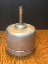 Vintage METAL FUNNEL Galvanized Tin Industrial Fuel Oil Gas Farm -unusual