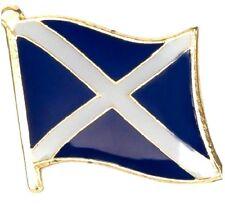 Scottish Flag Badge Scotland Pin Hibernian Metal of Glasgow Celtic Rangers