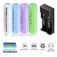 6X INR 2600mAh 18650 Battery 3.7V Li-ion Rechargeable Batteries With US Charger