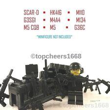 Custom LEGO Guns/Weapons (accessories)