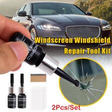 2Pcs DIY Car Windshield Repair Kit Auto Wind Glass Nano Repair Fluid Quick Fix