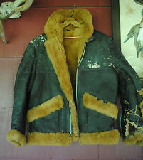 Ww Ii Men's Leather Jacket, Men's Size 42- 44, Made in England, Rare