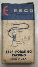 Vintage 1950 ESCO Rubber Products Self-Forming 18