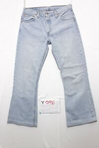Levi's 516 Bootcut (Cod.Y596) Tg47 W33 L36 Raccourci Used Taille Haute Vintage Z