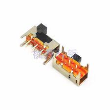 20Pcs 6mm High Side Knob 6 Pin 2 Position DPDT Slide Switch 0.5A 50VAC SK22H03