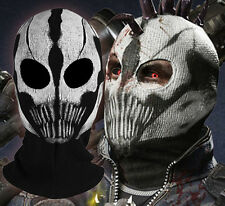 Call of Duty COD Commander Elias Balaclava Ghost Mask Skull Face Hood Halloween