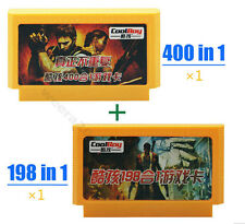 New Video Game Console 8 bit Famicom-Famiclone 400in1&198 in1 Games Multicart++