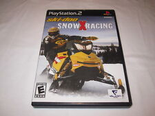 Ski-doo Snow X Racing (Playstation PS2) Black Label Game Complete Excellent!