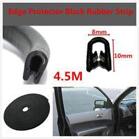 Universal Car Door Weather Seal Strip Accessories Push-on Pinchweld Steel Insert