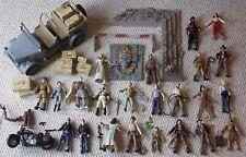 Indiana Jones Figuras De Acción Lote De Trabajo