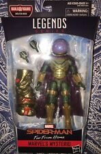 "Marvel Legends 6"" Spider-Man MYSTERIO Far From Home Movie Molten Man BAF"