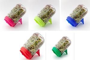 Dürr Sprossenglas Keimglas 5 verschiedene  Farben  wählbar