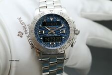 Breitling Airwolf Chronograph Blue Dial - Box & Papers