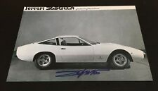 Photo Signed Designer Pininfarina Ferrari 365 GTC/4  autograph