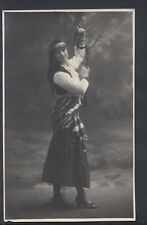 Theatrical Postcard - Real Photo of Dancing Girl, Belgium   RS5327