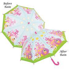 Floss & Rock Colour Changing Princess Kids Umbrella Manual Opening Girls Gift