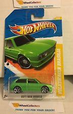 Volkswagen Brasilia #8 * GREEN * 2011 Hot Wheels * N116