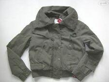 Levi's ® Jacke Kurzjacke mit breitem Kragen, Gr. M, NEU ! oliv-grün, gefüttert !