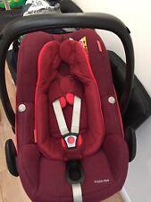 Maxi-Cosi Pebble Plus Baby Car Seat with Newborn Insert