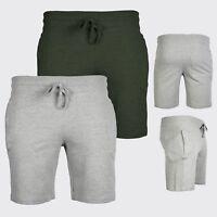 Mens Plain Sweat Summer Shorts | Designer Pockets Trunks | Gym, Casual Jogger