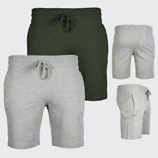 Mens Plain Sweat Summer Shorts   Designer Pockets Trunks   Gym, Casual Jogger