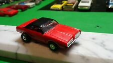 vintage t-jet body / 1970 murcury cougar / red with black hard top / nice