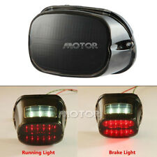 LED Tail Light for Harley Davidson Softail Electra Brake Turn Signal Smoke Lens