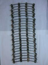 American Flyer S Gauge VINTAGE 2-Rail Curved Track (12 Sections)